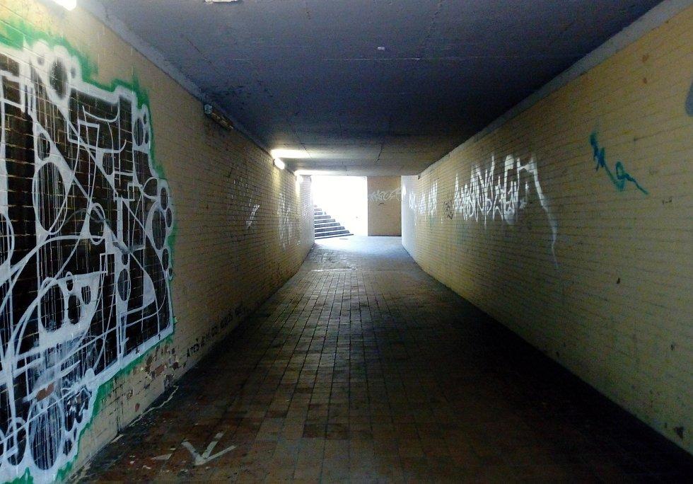 Podchody u škodovácké 7. brány.