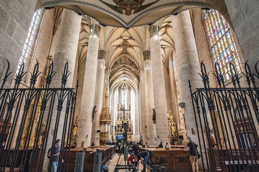 Podívejte se do nově zrekonstruovaných prostor Katedrály svatého Bartoloměje.