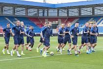 Trénink FC Viktoria Plzeň