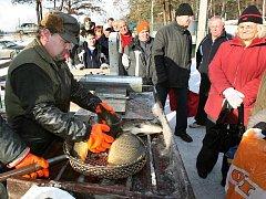 Spokojeností na obou stranách skončila vpondělní výprava kontrolorů České obchodní inspekce k rybníku Košinář v Plzni. Zákazníkovi, jehož nákup se rozhodli prověřit, dokonce prodejci naúčtovali méně, než ryba vážila
