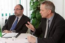 Miroslav Holeček (vpravo) a Vladimír Duchet