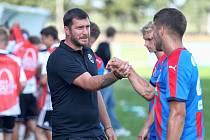 S řadou hráčů ze současného béčka plzeňské Viktorie se Pavel Fořt potkal, když dělal asistenta Jiřímu Žilákovi na podzim 2018 v juniorské Lize mistrů.