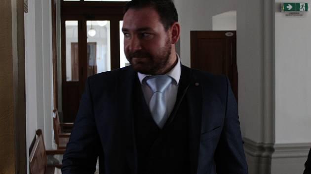 Mário Krtička, který je obviněný z toho, že vloni v lednu ubil k smrti taxikáře.