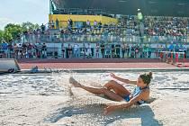 Nejúspěšnější atletkou Škody Plzeň, co do počtu medailí ze šampionátů, byla devatenáctiletá Linda Suchá.