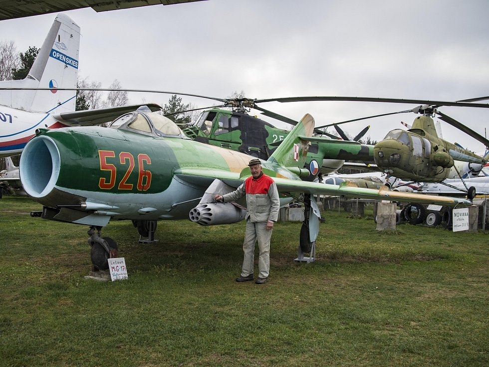 Karel Tarantík získal do Air Parku ve Zruči letoun Mig-17