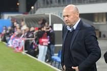 Spokojený trenér plzeňské Viktorie Miroslav Koubek.