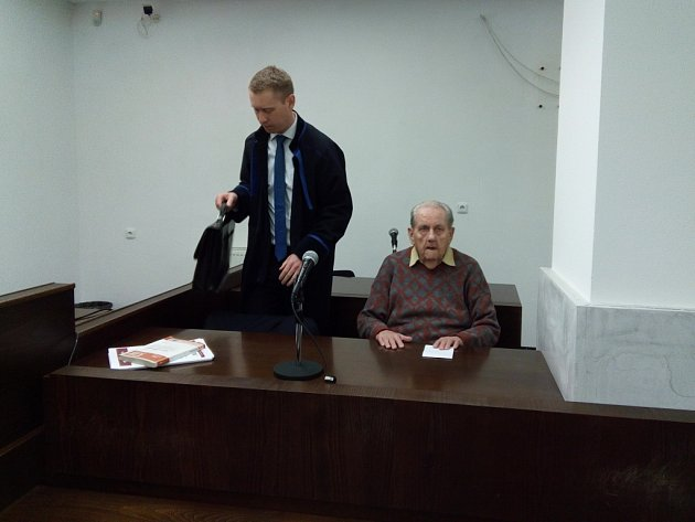 Jiří Volák u soudu