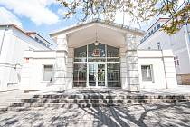 Budova Okresního soudu Plzeň-jih a sever v ulici Edvarda Beneše v Plzni