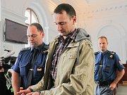 Policie při vyšetřování na místě činu