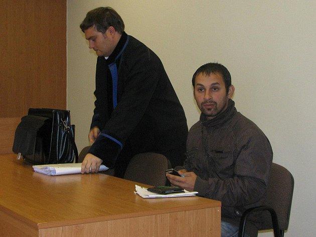 Josef Balog (vpravo)