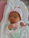 Dominika Navrátilová se narodila 3. června v 10:56 mamince Lence a tatínkovi Františkovi ze Zruče-Sence. Po příchodu na svět v plzeňské fakultní nemocnici vážila sestřička šestileté Natálky a dvouletého Františka 2590 gramů a měřila 48 centimetrů.