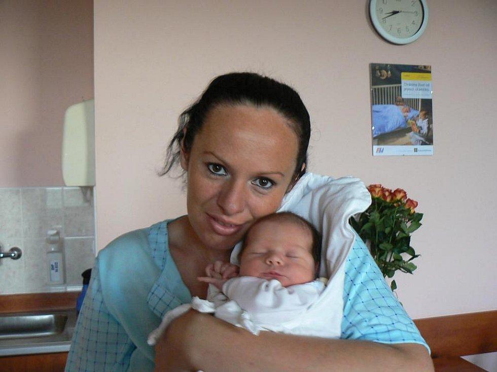 Vaneska (3,38 kg, 51 cm) je prvorozená dcera Evy Sedlákové a Pavla Květoně zPřeštic. Narodila se 30. září ve 22:30 hod. ve FN vPlzni
