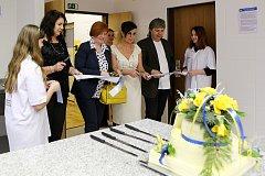 V odborné škole výroby a služeb dnes pro studenty otevřeli nově vybudovanou cukrárenskou výrobnu.