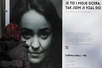 Doprovodnou akcí letošního Arabfestu je výstava před studijní knihovnou ve Smetanových sadech. Fotografie  a texty představují Araby, jež mohou Plzeňané potkávat v ulicích.  Například Sabrinu Khelil.