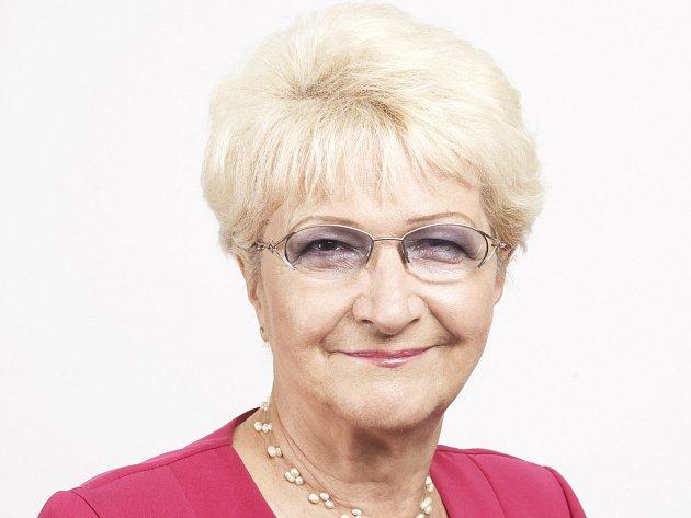 Kandidátka do senátu Milada Emmerová (ČSSD).