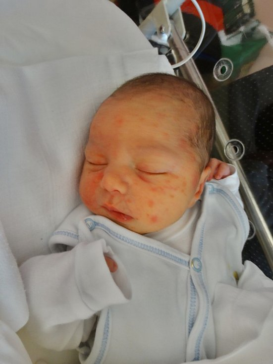 Matouš Davídek se narodil 10. listopadu ve 13:49 mamkince Petře a tatínkovi Karlovi zBdeněvsi. Po příchodu na svět vplzeňské FN vážil bráška dvouletého Vítka 3160 gramů a měřil 51 cm.