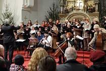 Unikátní 250 let stará vánoční mše Missa I. pro Festis Natalitiis slovenského barokního autora Juraje Zrunka zazněla v kostele sv. Jana Nepomuckého.