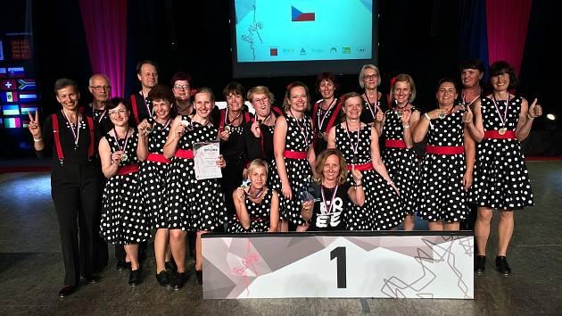 Plzeňští stepaři přivezli zlato z mistrovství Evropy.