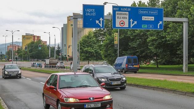 Studentská ulice v Plzni