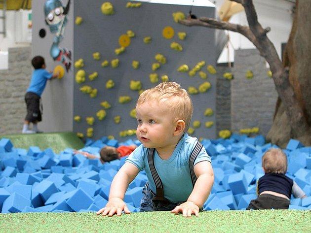 Expozice v Techmanii s názvem Malá věda je určena dětem