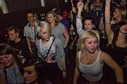 Kapela The Prostitutes během listopadového koncertu v Plzni