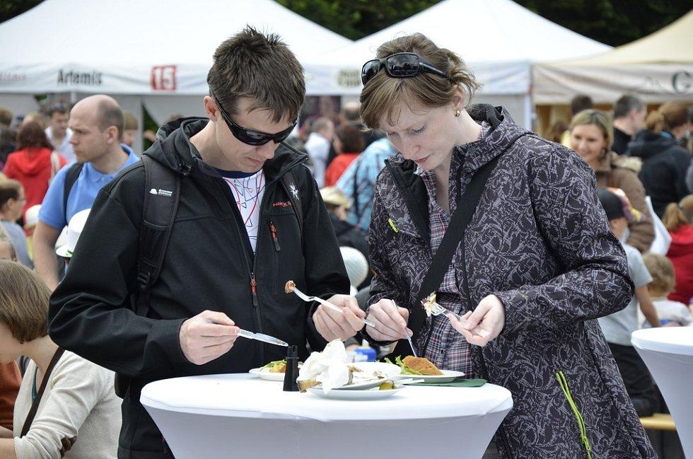 Apetit Festival v Plzni.
