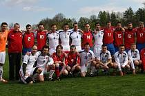 Fotbalový tým českých lékařů vybojoval na MS v Long Beach zlaté medaile.