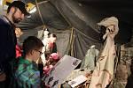 Prezentace dobového vojenského tábora americké armády z května 1945 a života civilního obyvatelstva.