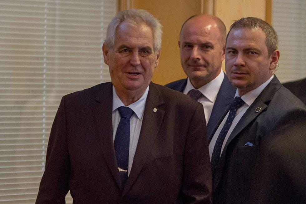 Miloš Zeman v Plzni
