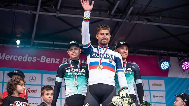 Mistrovství České a Slovenské republiky v silniční cyklistice.