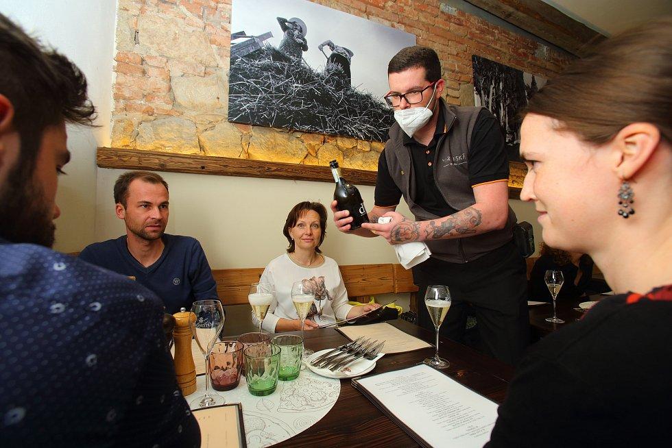 Plzeň - restaurace Martinská Osteria