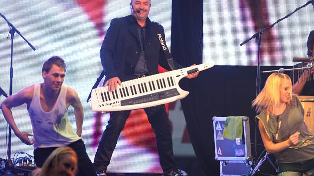Koncert Michala Davida a Lucie Vondráčková