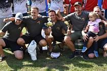 První místo vybojoval v 7. a 8. kole Západočeské hasičské ligy tým mužů z SDH Únětice.