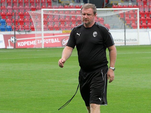 Trénink Viktorie Plzeň před utkáním s Larnakou