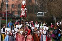 Vynášení Morany v Plzni.