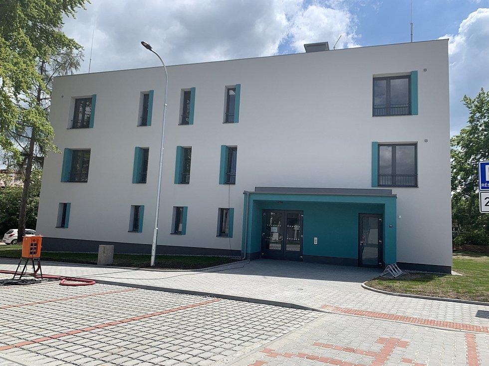 Nové byty na Zátiší v Plzni.