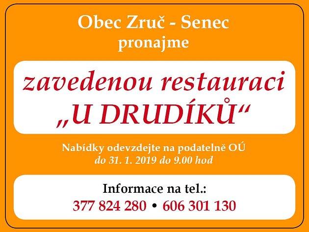 Zruč - Senec