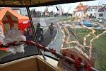 Mikulášská tramvaj projela Plzní