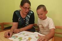Kateřina Tůmová se svým synem Zdeňkem