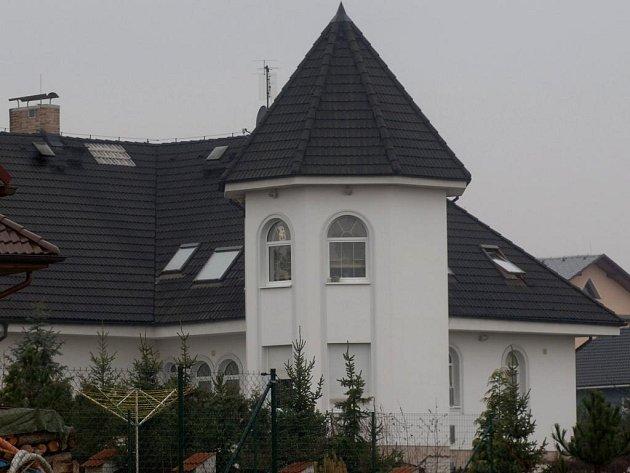 Vila, která patří podnikateli Miloši Matouškovi