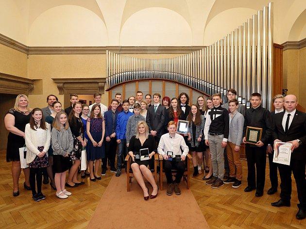 Sportovec Plzně za 2017 kategorie žactvo a dorost - předání MMP - Nadace sportující mládeže