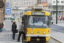 Od 1. dubna opět tramvaje zastavují na Anglickém nábřeží, kde probíhala rozsáhlá rekonstrukce.