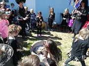 Čarodějnice v družině v Sušici.
