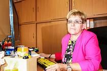 I přes svůj hendikep pomáhá Dana Vaníková lidem v Centru pro postižené Plzeňského kraje.