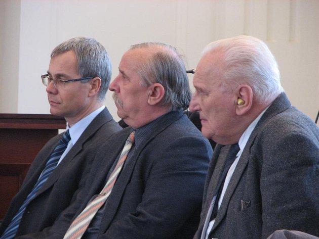 Martin Pinl, Jiří Slabyhoud a Ladislav Gerle