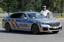dopravní policie ČR vozidlo BMX 745i