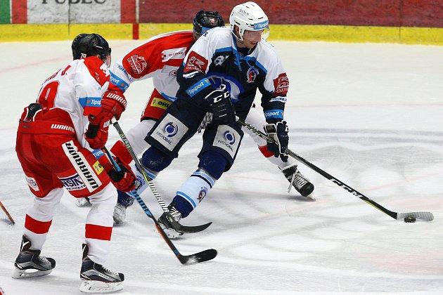Čtvrteční úvodní bitvu sOlomoucí prohrála Plzeň po nájezdech 2:3.