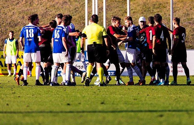 Domažlice vs. Sparta Praha B 2:0.
