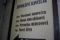 Advokátní kancelář Skopeček, Kolaříková, Burianová, Šíma v centru města Plzně.
