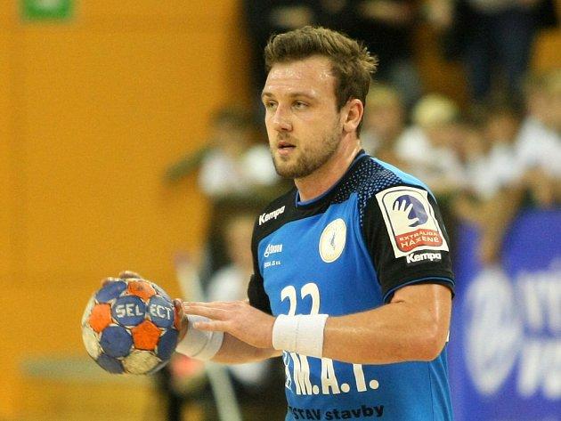 Plzeňský házenkář Michal Tonar (na snímku) nasázel v Poreči jedenáct branek. Kolik si jich v Poháru EHF schoval na dánského soupeře, uvidíme na konci listopadu